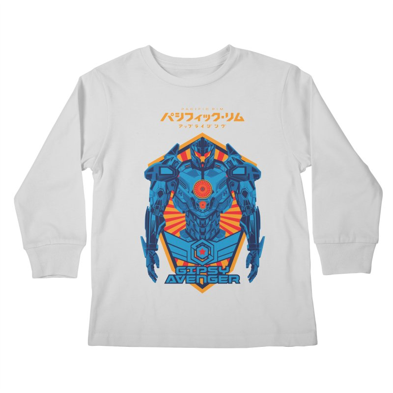 PACIFIC RIM UPRISING Kids Longsleeve T-Shirt by ALGS's Artist Shop