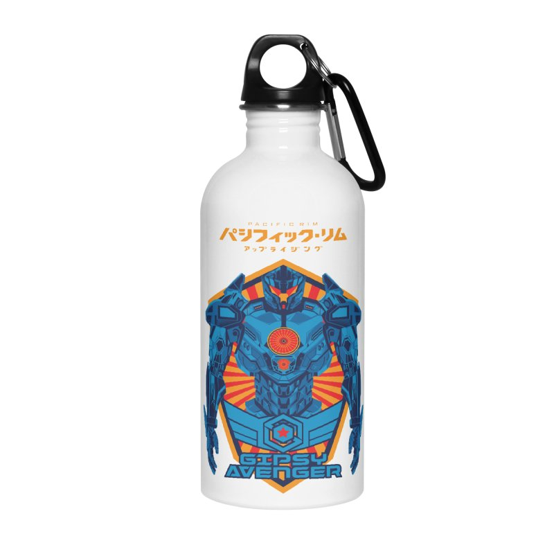 PACIFIC RIM UPRISING Accessories Water Bottle by ALGS's Artist Shop