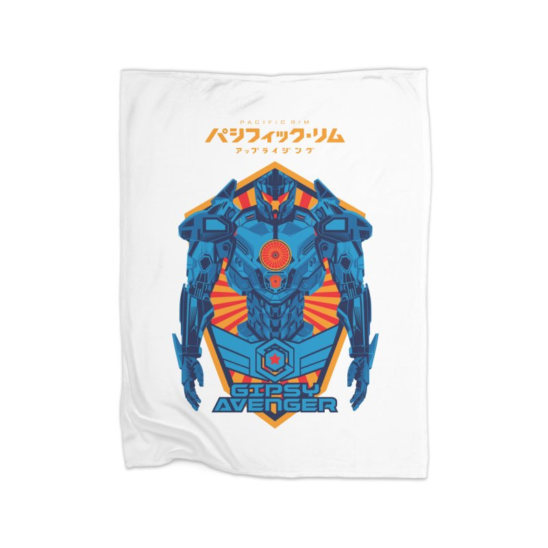 PACIFIC RIM UPRISING Home Blanket by ALGS's Artist Shop