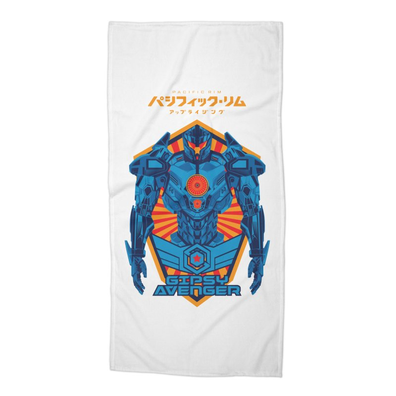 PACIFIC RIM UPRISING Accessories Beach Towel by ALGS's Artist Shop