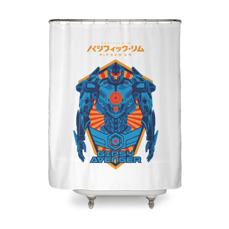 PACIFIC RIM UPRISING Home Shower Curtain by ALGS's Artist Shop