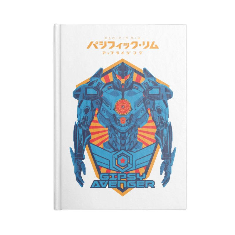 PACIFIC RIM UPRISING Accessories Blank Journal Notebook by ALGS's Artist Shop