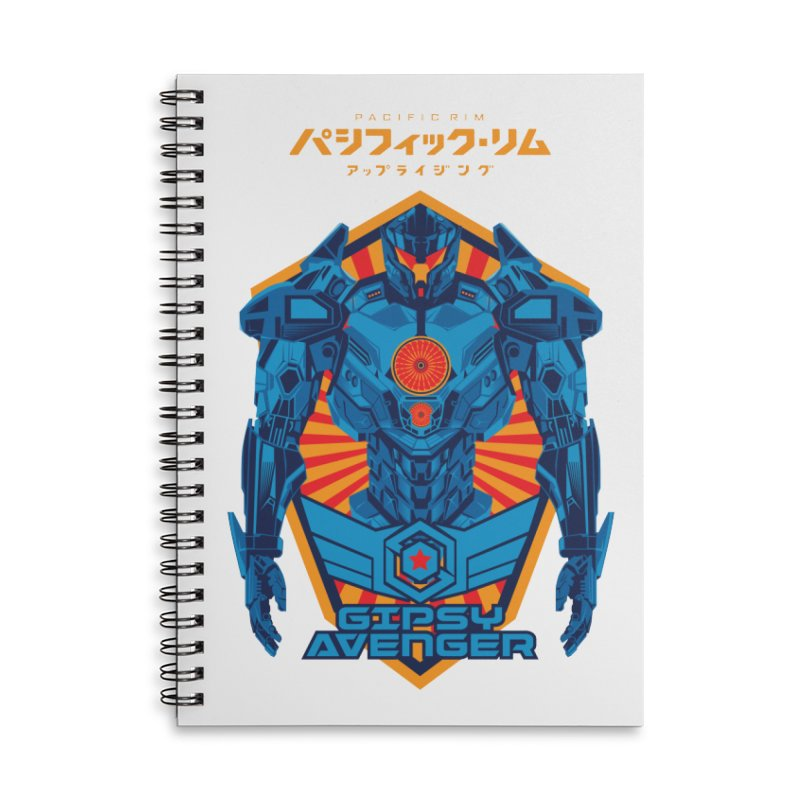 PACIFIC RIM UPRISING Accessories Lined Spiral Notebook by ALGS's Artist Shop