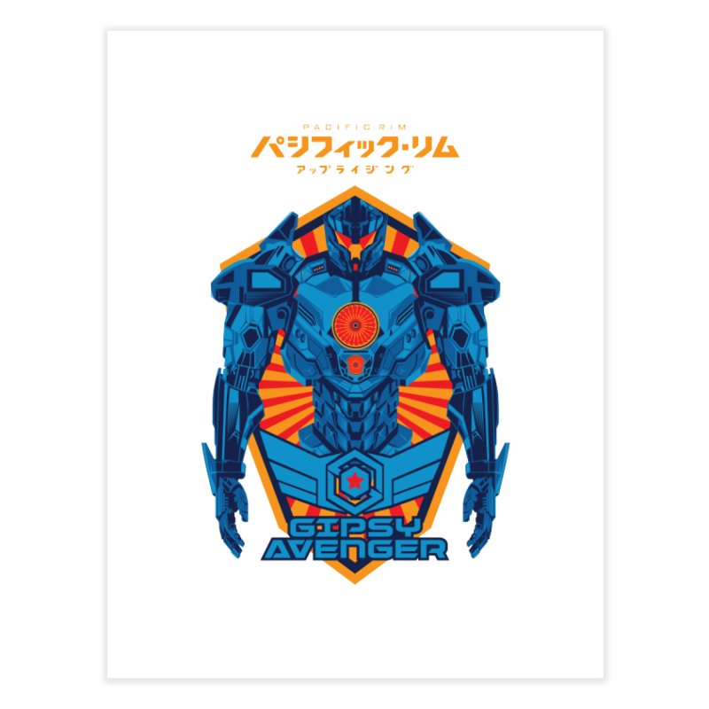 PACIFIC RIM UPRISING Home Fine Art Print by ALGS's Artist Shop
