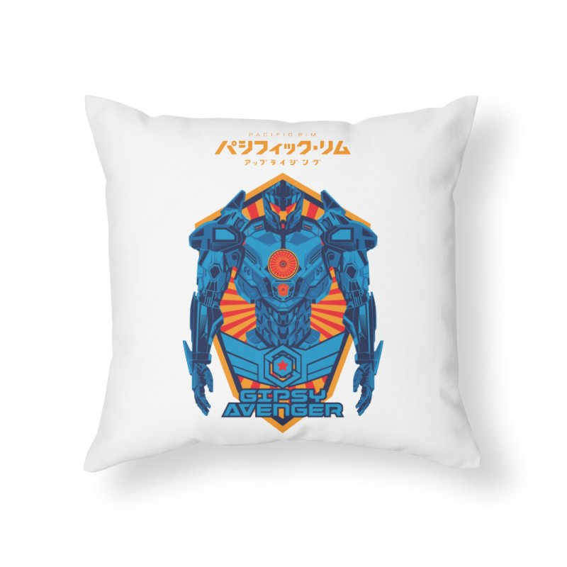 PACIFIC RIM UPRISING Home Throw Pillow by ALGS's Artist Shop