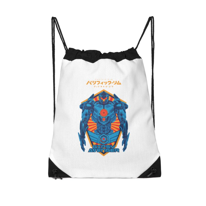 PACIFIC RIM UPRISING Accessories Drawstring Bag Bag by ALGS's Artist Shop
