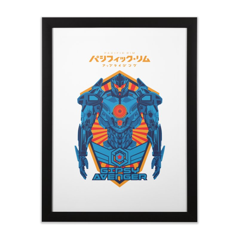 PACIFIC RIM UPRISING Home Framed Fine Art Print by ALGS's Artist Shop