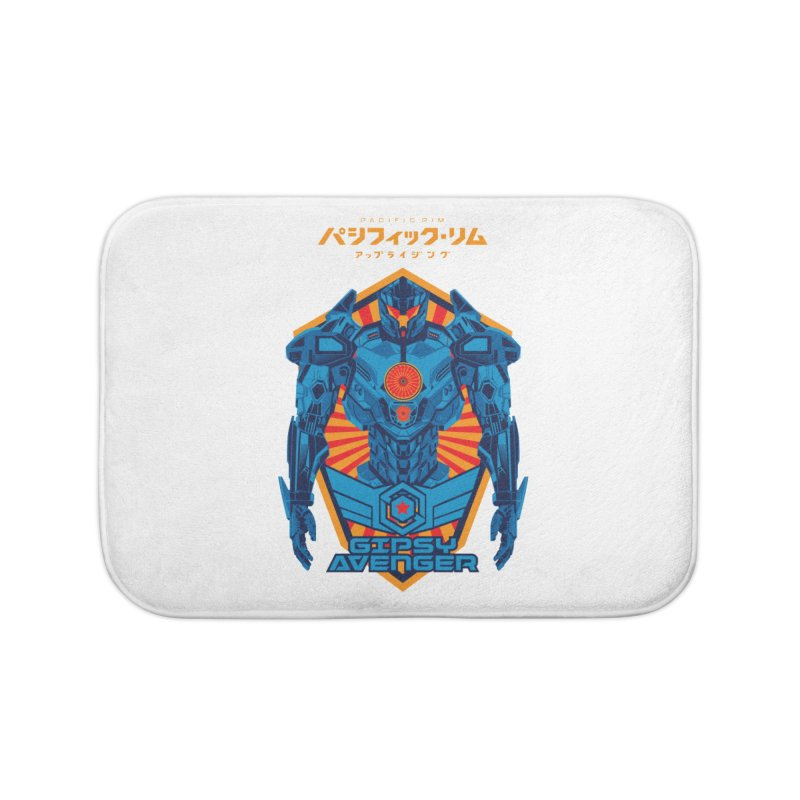 PACIFIC RIM UPRISING Home Bath Mat by ALGS's Artist Shop