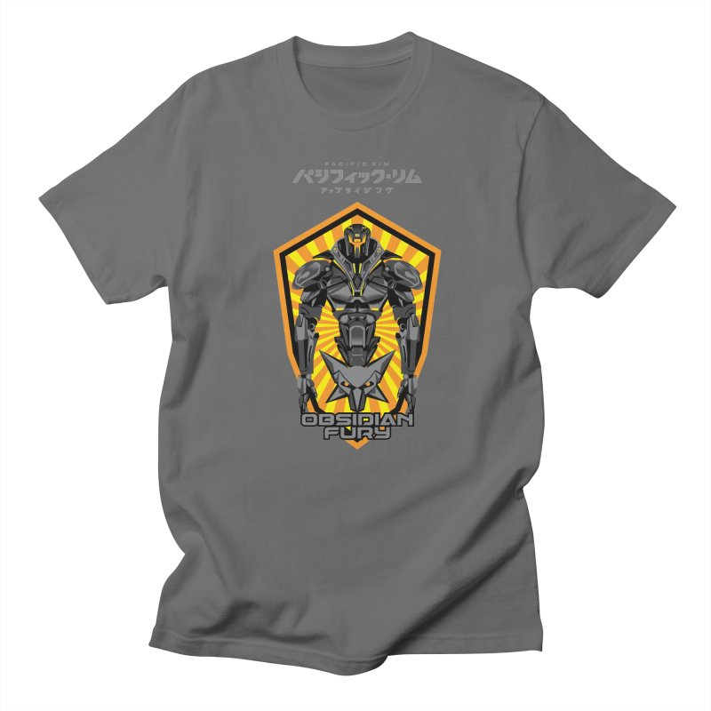 PACIFIC RIM : OBSIDIAN FURY JAEGER Men's T-Shirt by ALGS's Artist Shop