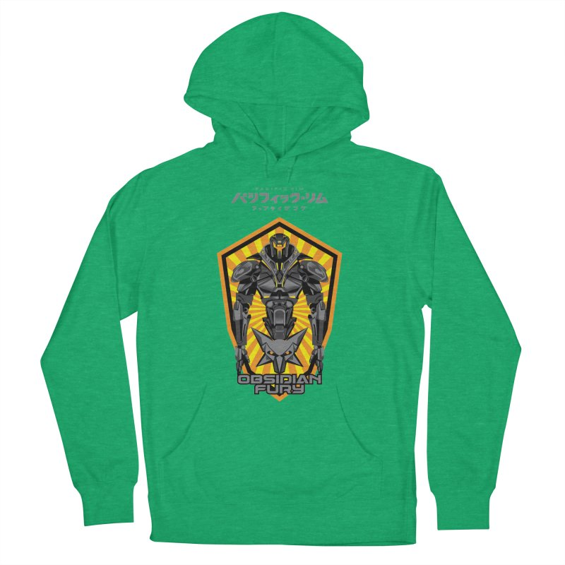 PACIFIC RIM : OBSIDIAN FURY JAEGER Women's French Terry Pullover Hoody by ALGS's Artist Shop