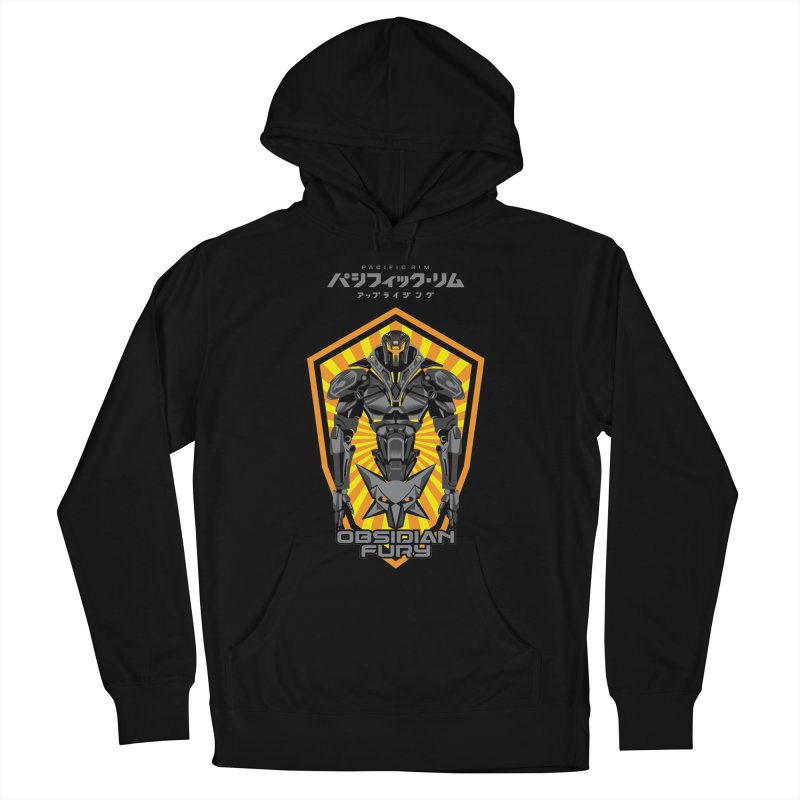 PACIFIC RIM : OBSIDIAN FURY JAEGER Men's French Terry Pullover Hoody by ALGS's Artist Shop