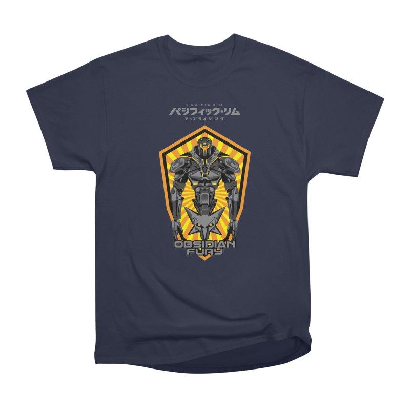 PACIFIC RIM : OBSIDIAN FURY JAEGER Men's Heavyweight T-Shirt by ALGS's Artist Shop