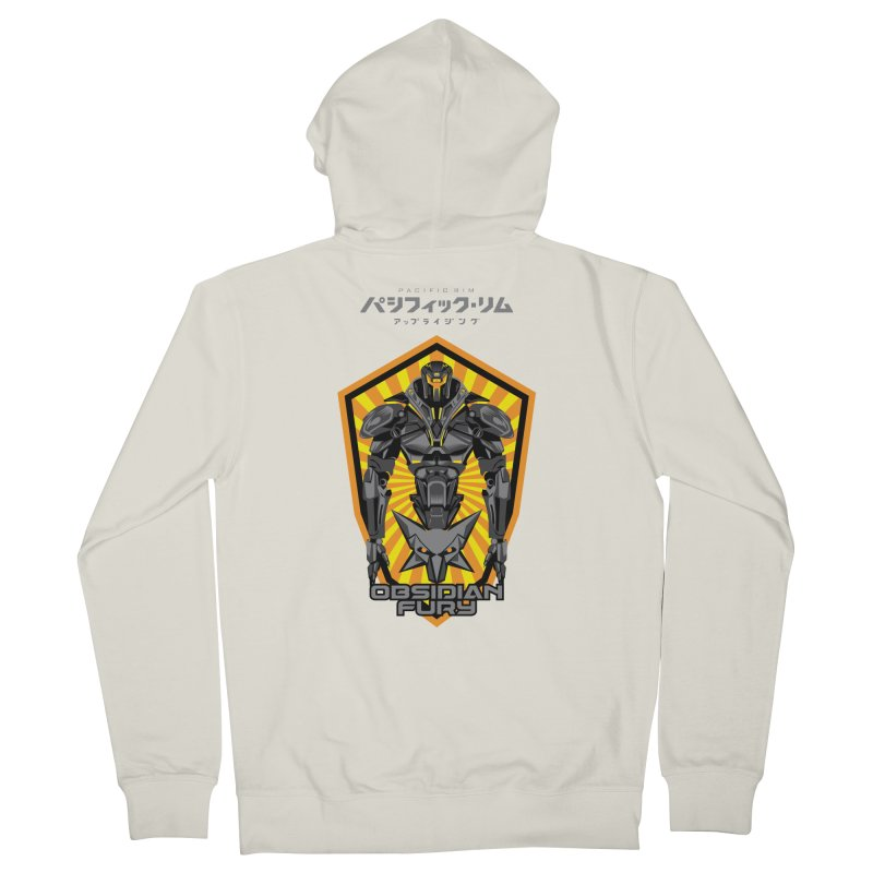 PACIFIC RIM : OBSIDIAN FURY JAEGER Women's French Terry Zip-Up Hoody by ALGS's Artist Shop