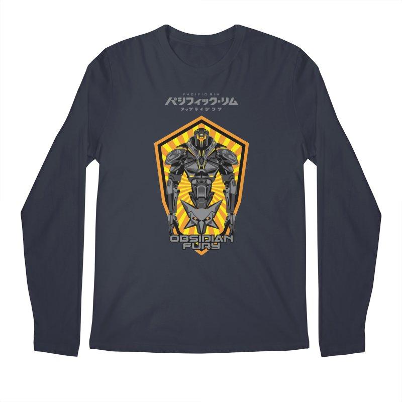 PACIFIC RIM : OBSIDIAN FURY JAEGER Men's Longsleeve T-Shirt by ALGS's Artist Shop