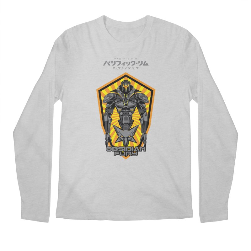 PACIFIC RIM : OBSIDIAN FURY JAEGER Men's Longsleeve T-Shirt by ALGS's Artist Shop