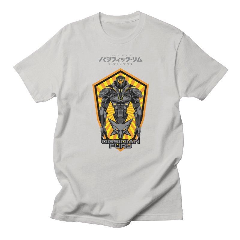 PACIFIC RIM : OBSIDIAN FURY JAEGER Men's Regular T-Shirt by ALGS's Artist Shop