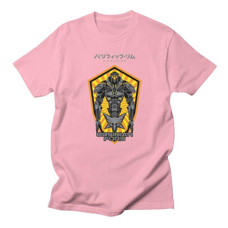 PACIFIC RIM : OBSIDIAN FURY JAEGER Women's Unisex T-Shirt by ALGS's Artist Shop