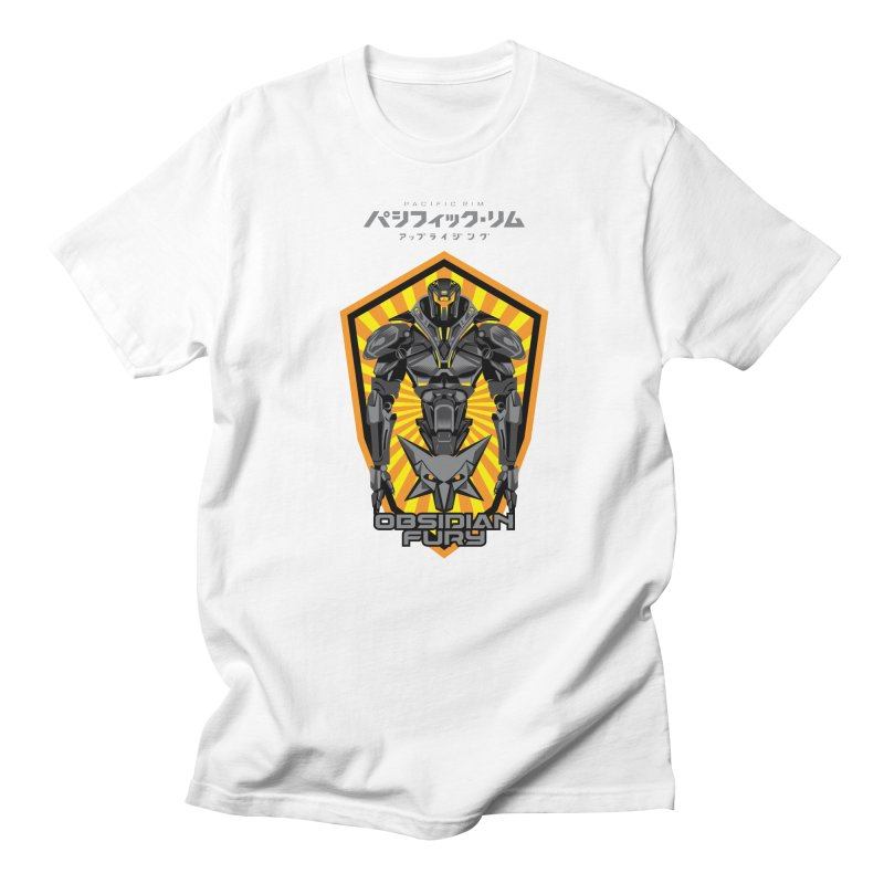 PACIFIC RIM : OBSIDIAN FURY JAEGER Women's Regular Unisex T-Shirt by ALGS's Artist Shop