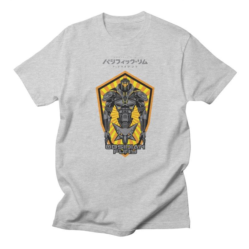 PACIFIC RIM : OBSIDIAN FURY JAEGER Men's T-Shirt by ALGS's Artist Shop