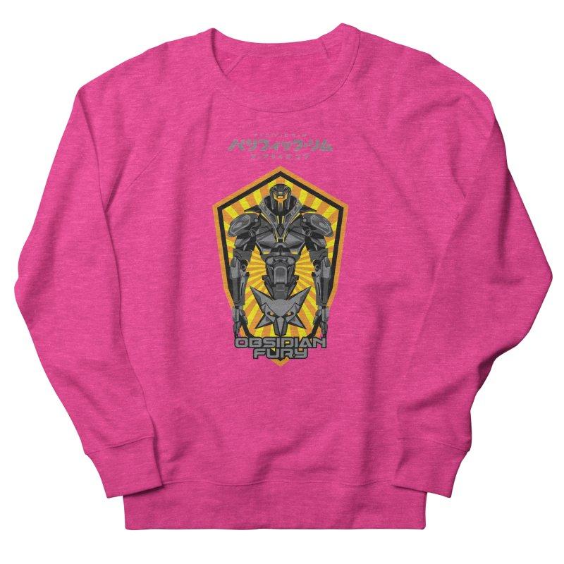 PACIFIC RIM : OBSIDIAN FURY JAEGER Women's French Terry Sweatshirt by ALGS's Artist Shop