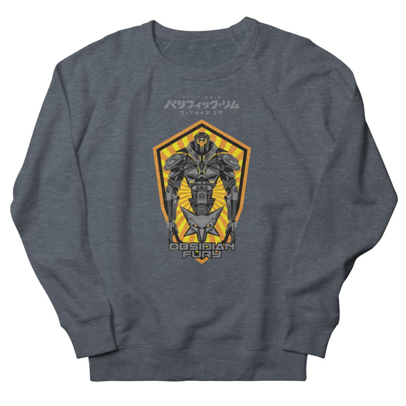 PACIFIC RIM : OBSIDIAN FURY JAEGER Men's Sweatshirt by ALGS's Artist Shop