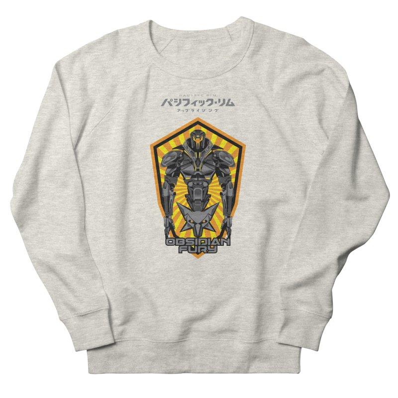 PACIFIC RIM : OBSIDIAN FURY JAEGER Men's French Terry Sweatshirt by ALGS's Artist Shop