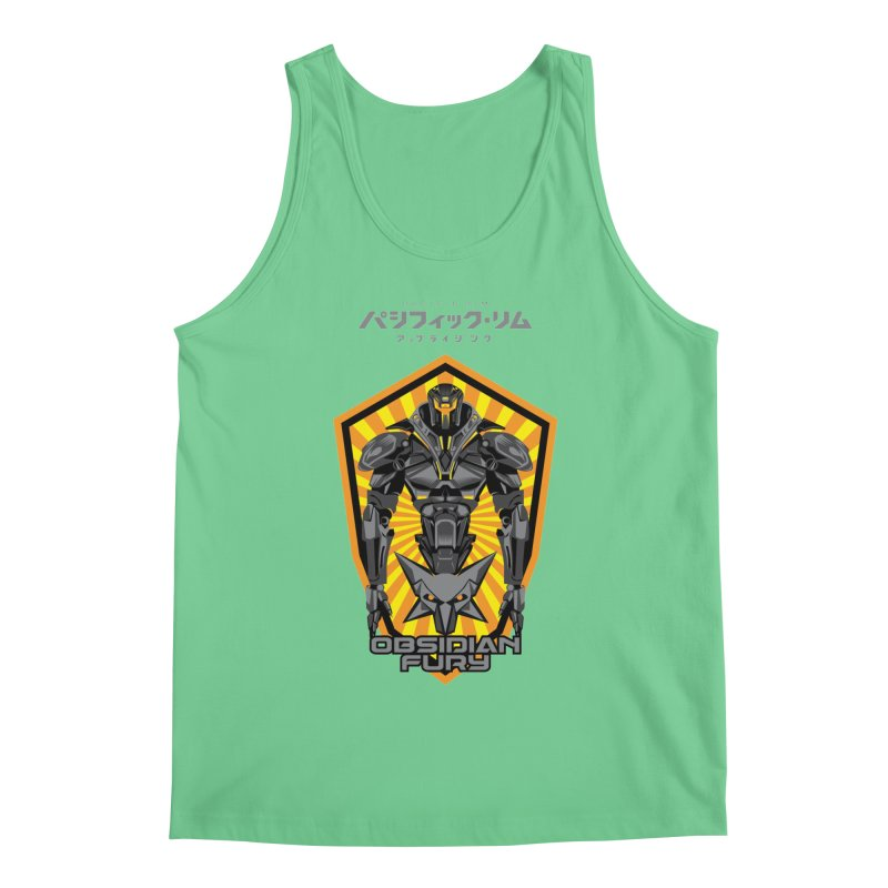PACIFIC RIM : OBSIDIAN FURY JAEGER Men's Regular Tank by ALGS's Artist Shop