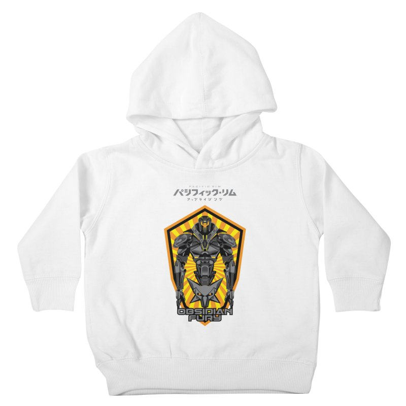 PACIFIC RIM : OBSIDIAN FURY JAEGER Kids Toddler Pullover Hoody by ALGS's Artist Shop