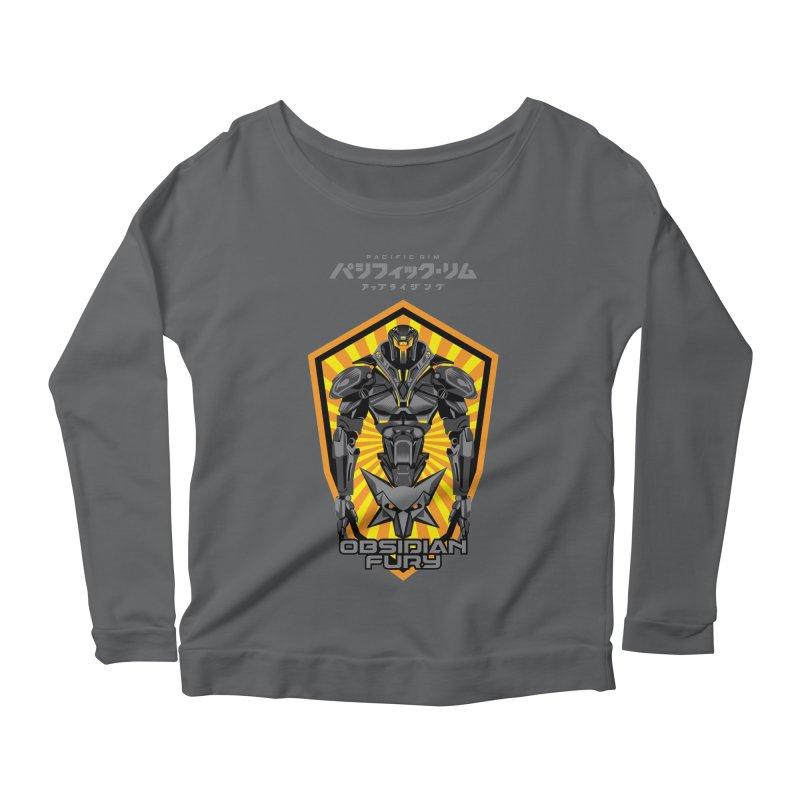 PACIFIC RIM : OBSIDIAN FURY JAEGER Women's Longsleeve T-Shirt by ALGS's Artist Shop