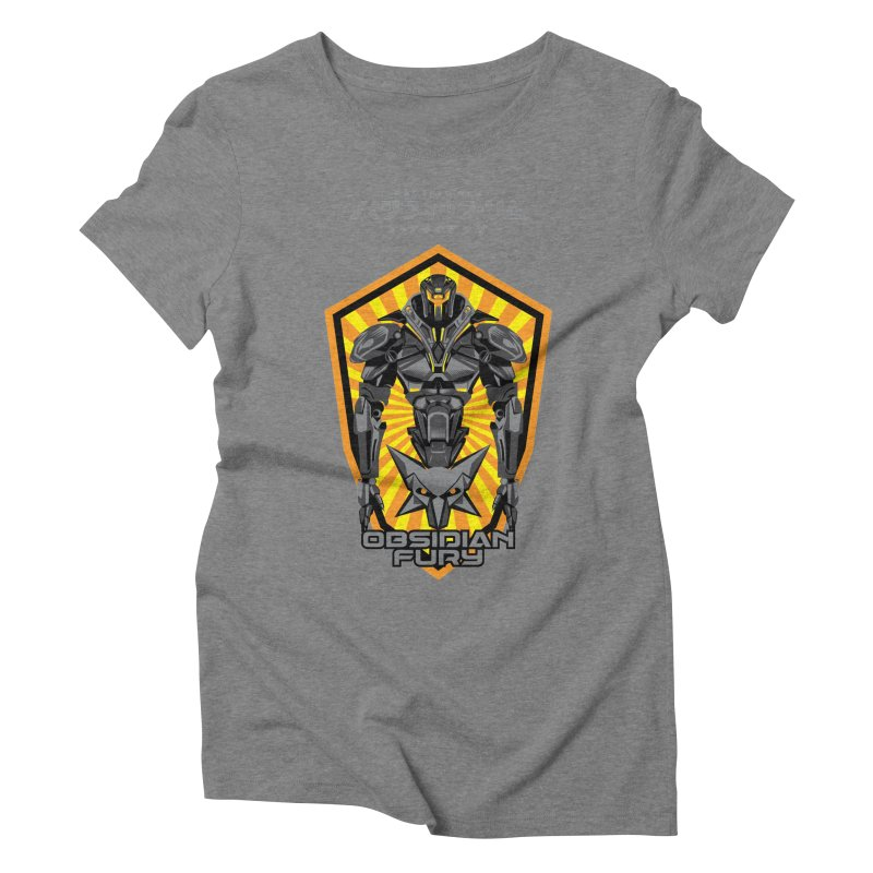 PACIFIC RIM : OBSIDIAN FURY JAEGER Women's Triblend T-Shirt by ALGS's Artist Shop
