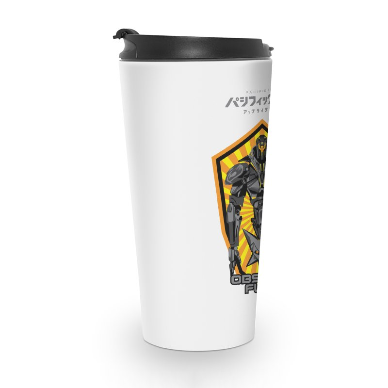 PACIFIC RIM : OBSIDIAN FURY JAEGER Accessories Travel Mug by ALGS's Artist Shop