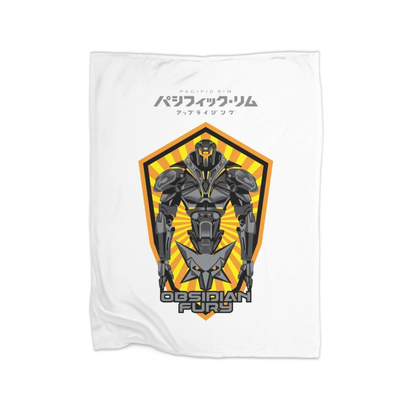 PACIFIC RIM : OBSIDIAN FURY JAEGER Home Blanket by ALGS's Artist Shop