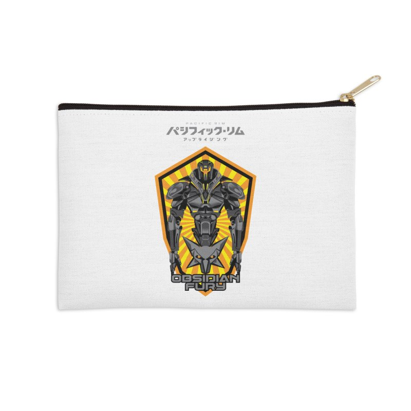PACIFIC RIM : OBSIDIAN FURY JAEGER Accessories Zip Pouch by ALGS's Artist Shop