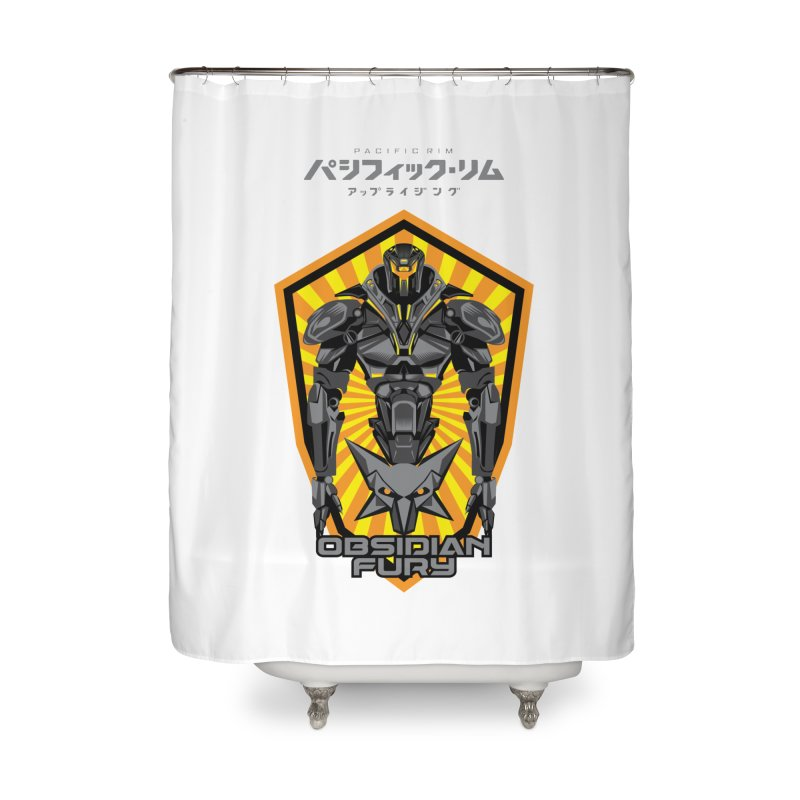 PACIFIC RIM : OBSIDIAN FURY JAEGER Home Shower Curtain by ALGS's Artist Shop
