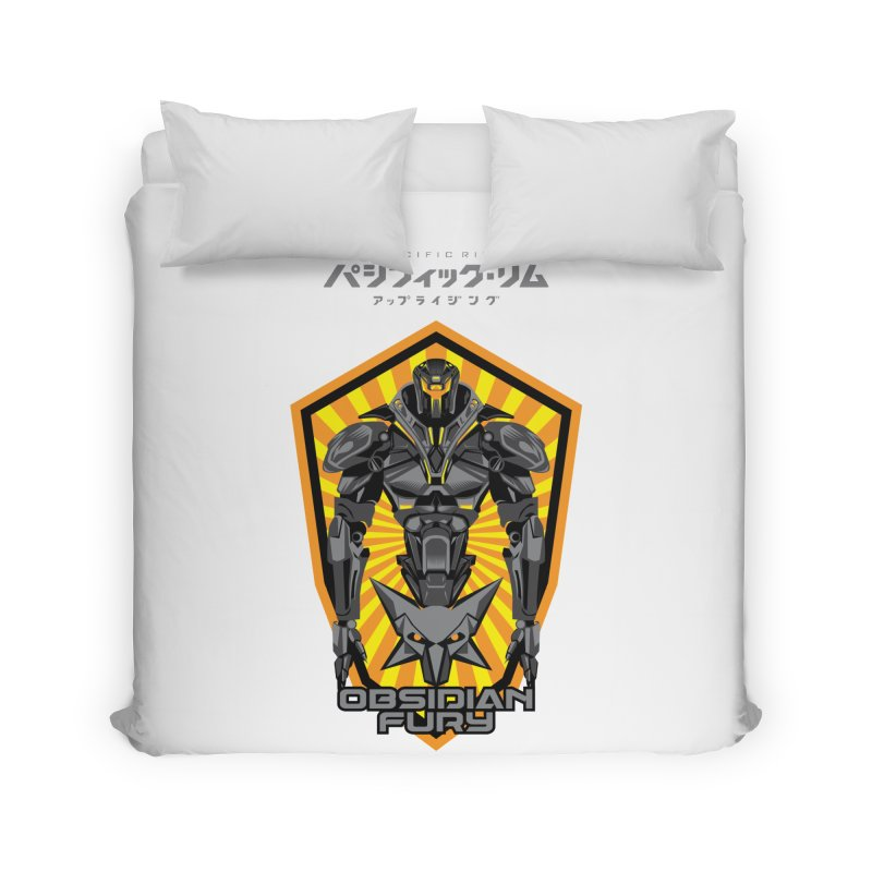 PACIFIC RIM : OBSIDIAN FURY JAEGER Home Duvet by ALGS's Artist Shop