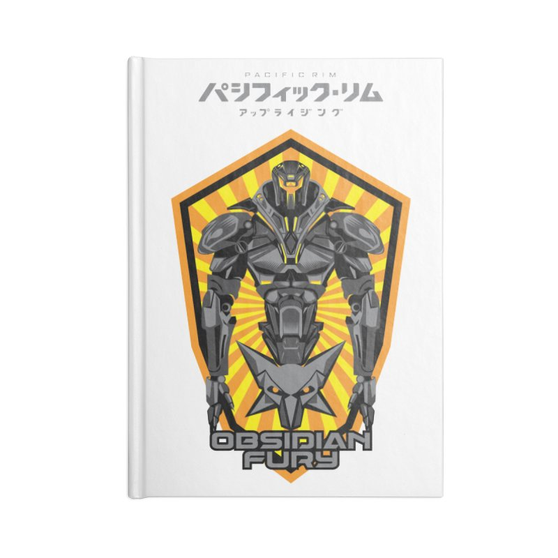 PACIFIC RIM : OBSIDIAN FURY JAEGER Accessories Blank Journal Notebook by ALGS's Artist Shop