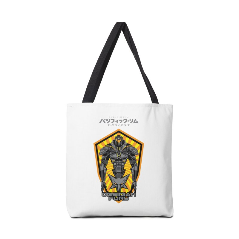 PACIFIC RIM : OBSIDIAN FURY JAEGER Accessories Tote Bag Bag by ALGS's Artist Shop