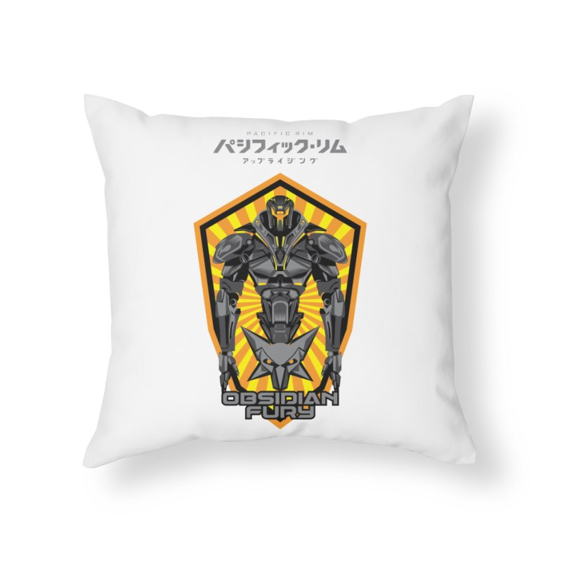 PACIFIC RIM : OBSIDIAN FURY JAEGER Home Throw Pillow by ALGS's Artist Shop
