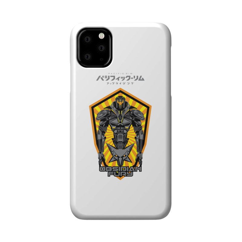 PACIFIC RIM : OBSIDIAN FURY JAEGER Accessories Phone Case by ALGS's Artist Shop
