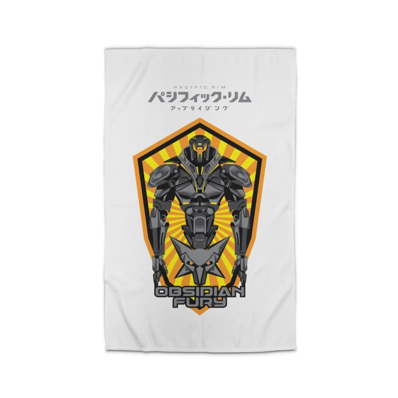 PACIFIC RIM : OBSIDIAN FURY JAEGER Home Rug by ALGS's Artist Shop