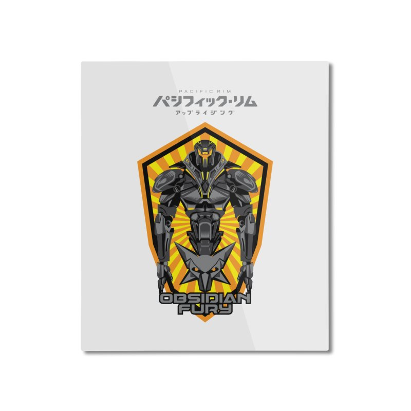 PACIFIC RIM : OBSIDIAN FURY JAEGER Home Mounted Aluminum Print by ALGS's Artist Shop