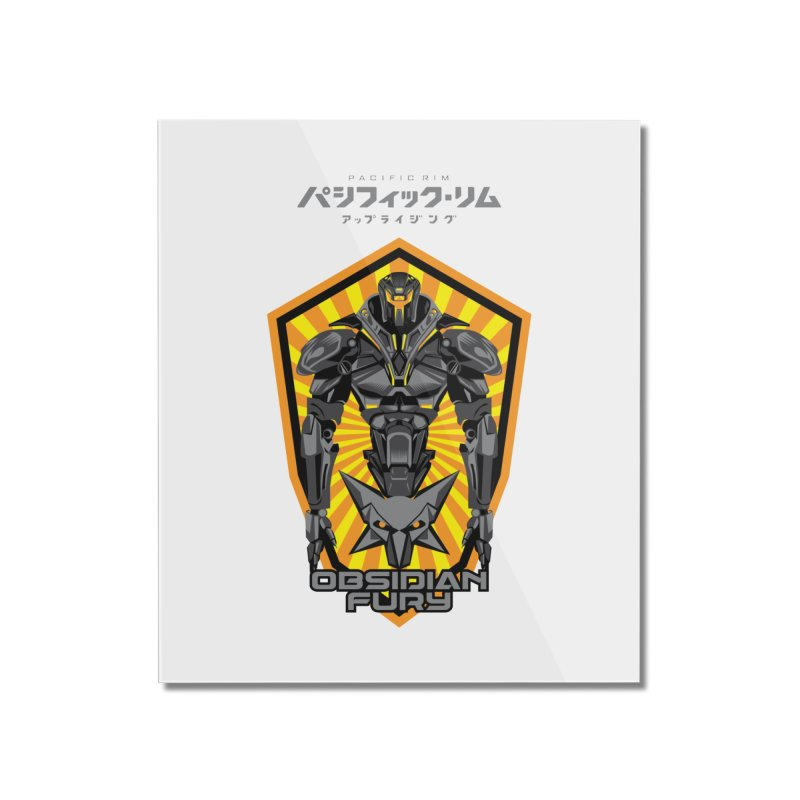 PACIFIC RIM : OBSIDIAN FURY JAEGER Home Mounted Acrylic Print by ALGS's Artist Shop
