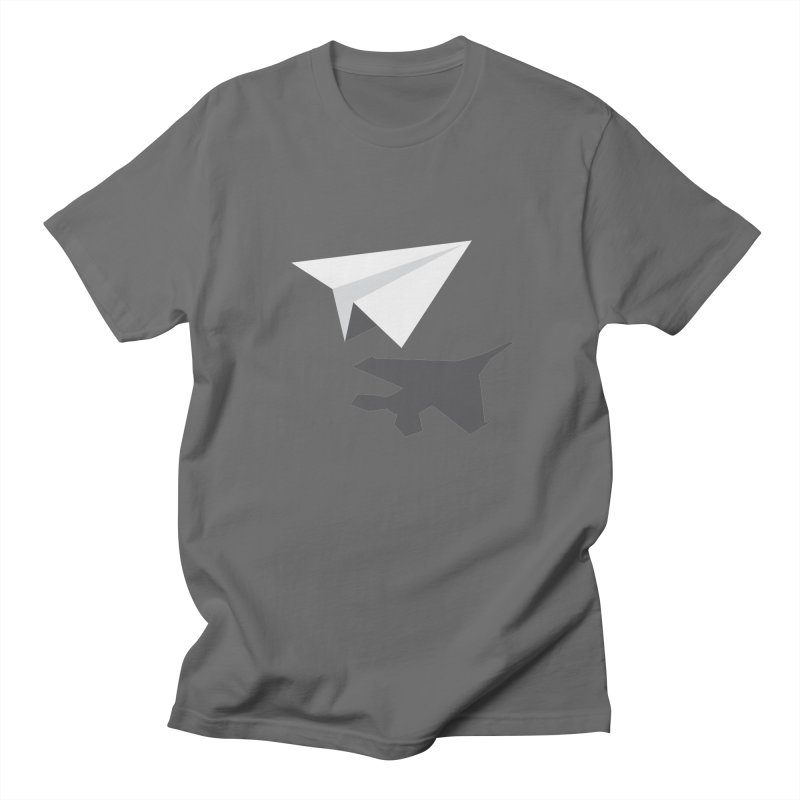 PAPERPLANE FIGHTER Men's T-Shirt by ALGS's Artist Shop