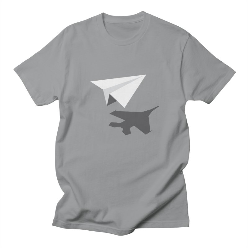 PAPERPLANE FIGHTER Women's Regular Unisex T-Shirt by ALGS's Artist Shop