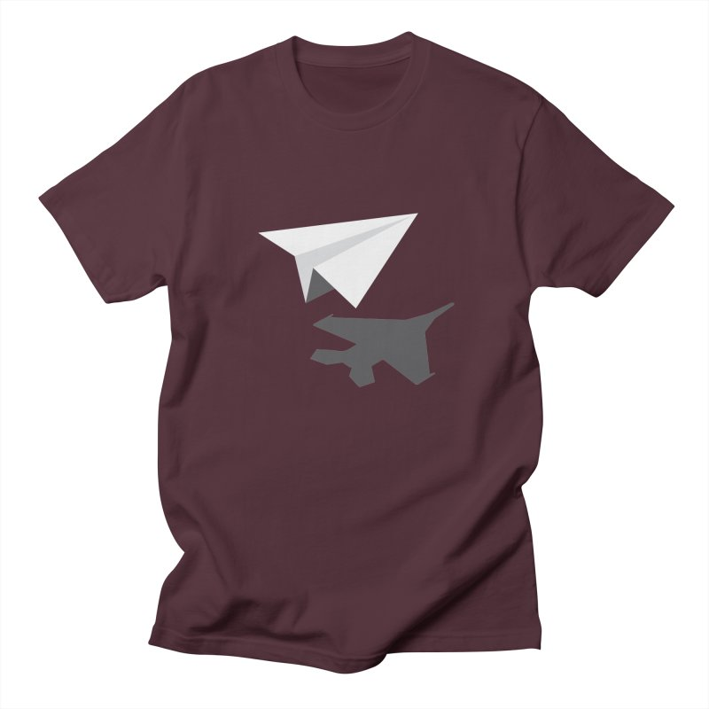 PAPERPLANE FIGHTER Men's Regular T-Shirt by ALGS's Artist Shop