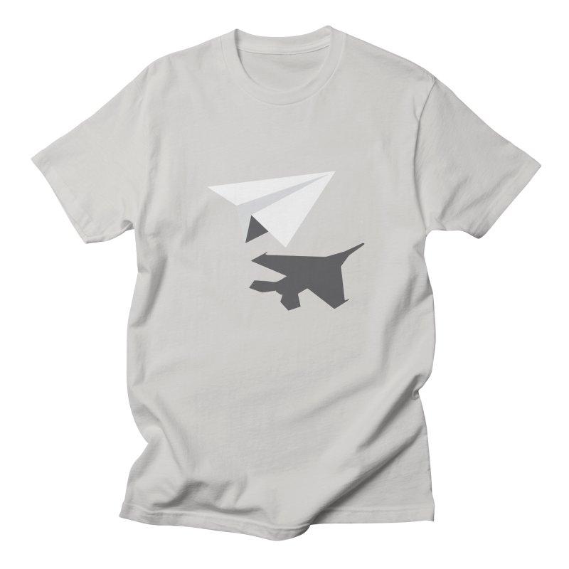 PAPERPLANE FIGHTER Women's Regular Unisex T-Shirt by ALGS's Artist Shop