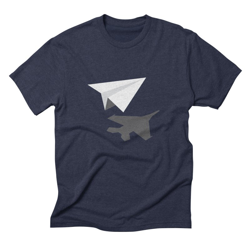 PAPERPLANE FIGHTER Men's Triblend T-Shirt by ALGS's Artist Shop