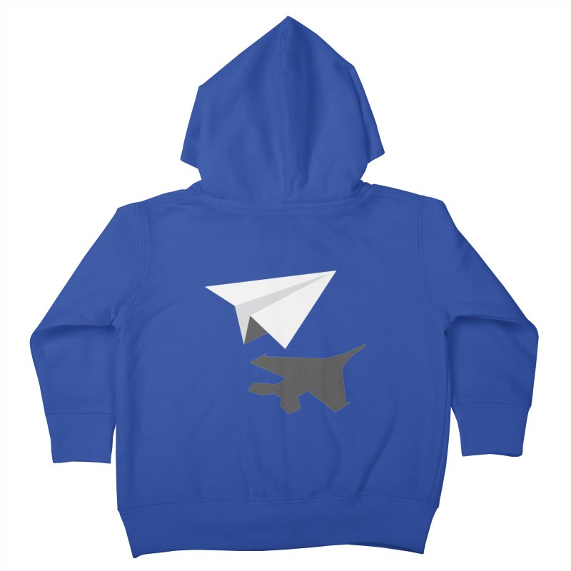 PAPERPLANE FIGHTER Kids Toddler Zip-Up Hoody by ALGS's Artist Shop