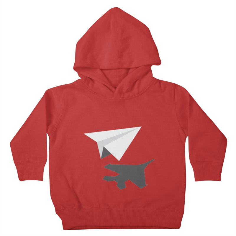 PAPERPLANE FIGHTER Kids Toddler Pullover Hoody by ALGS's Artist Shop