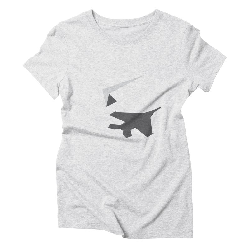 PAPERPLANE FIGHTER Women's Triblend T-Shirt by ALGS's Artist Shop